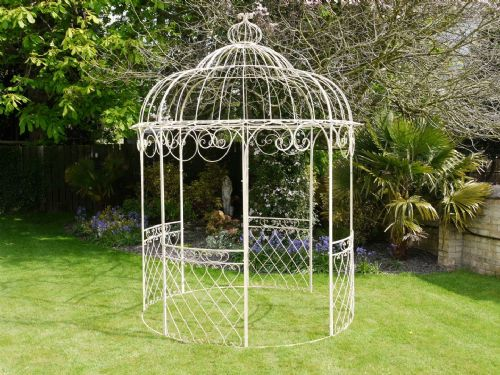 Chelsea Metal Cream Gazebo